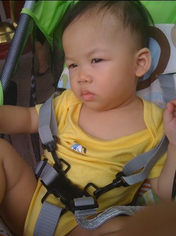 Smelly Face Zai @ 13 Month