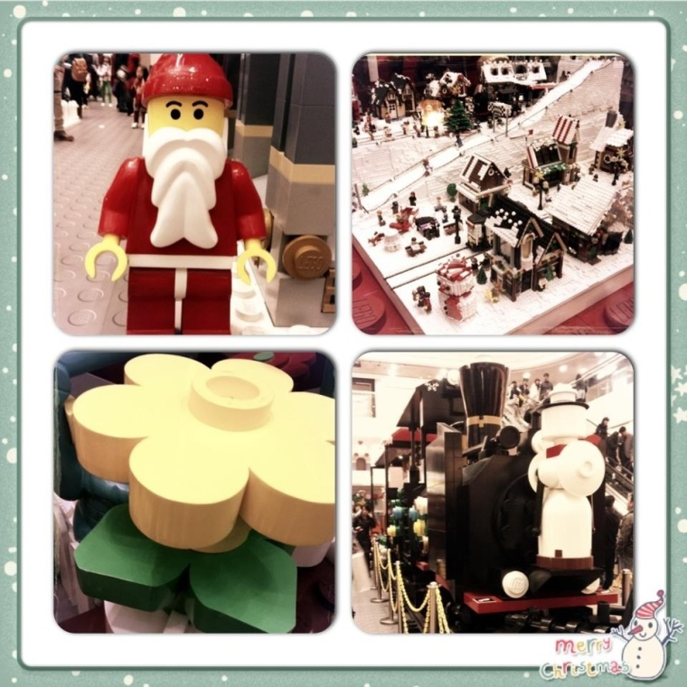 Lego Village @ Times Square
