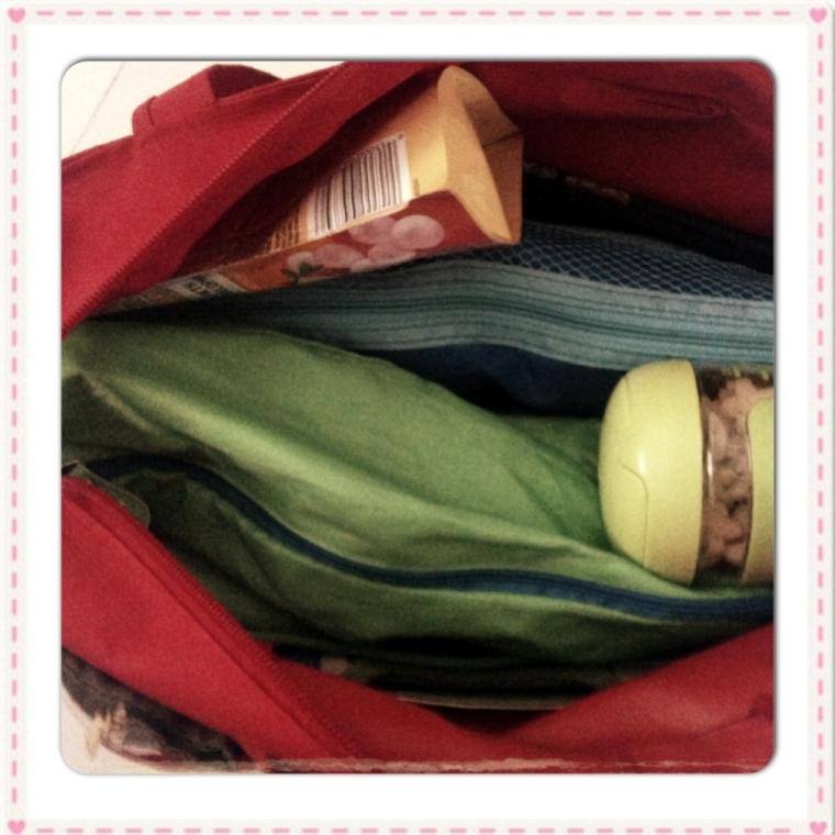 My Diaper Bag - Inside