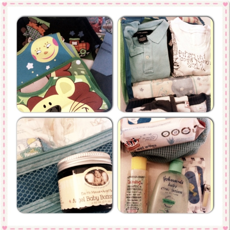 My Diaper Bag - Inside the Bags