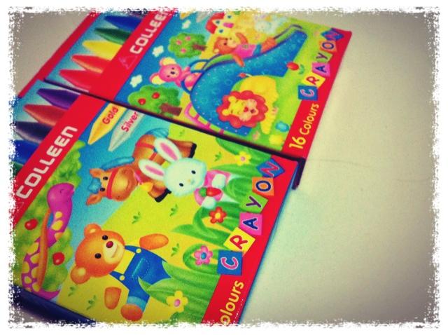Crayons for Zai's Classmates