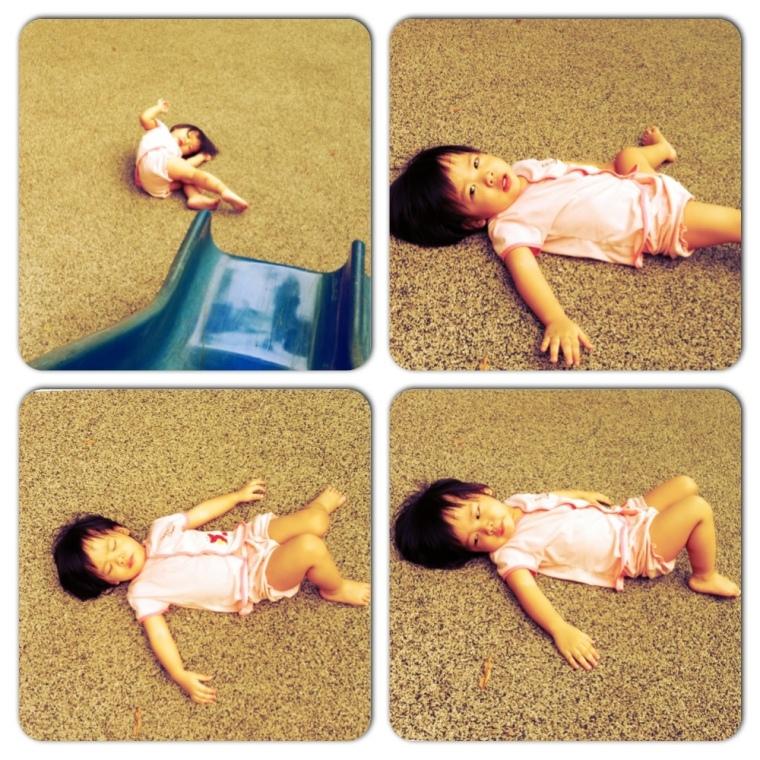 Loi Sun Bathing @ Playground