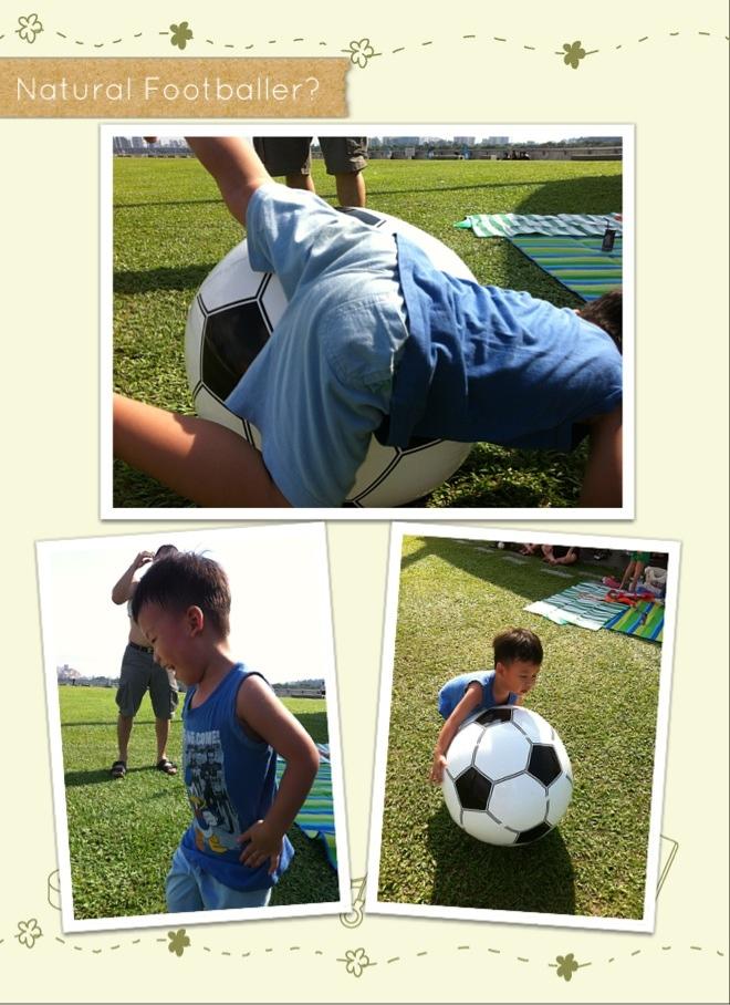 Zai and his Huge Soccer Ball