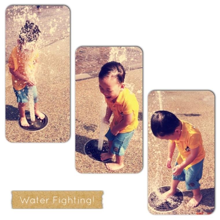 Zai Fighting with Water