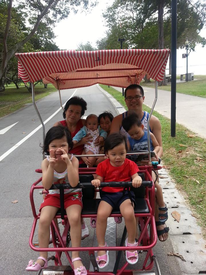 """Quad Cycling"" @ East Coast Park"