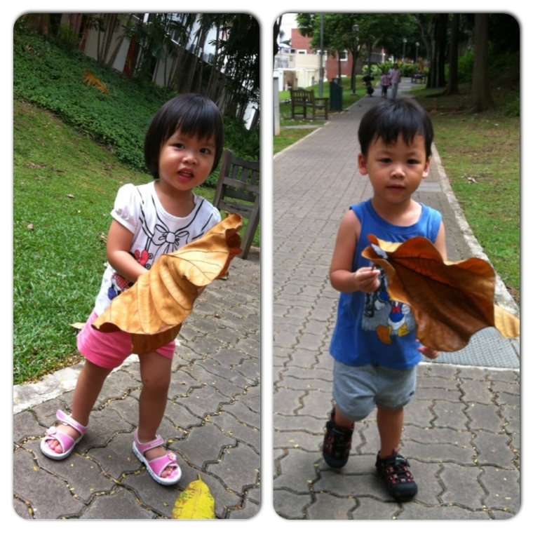 The talkative kids...