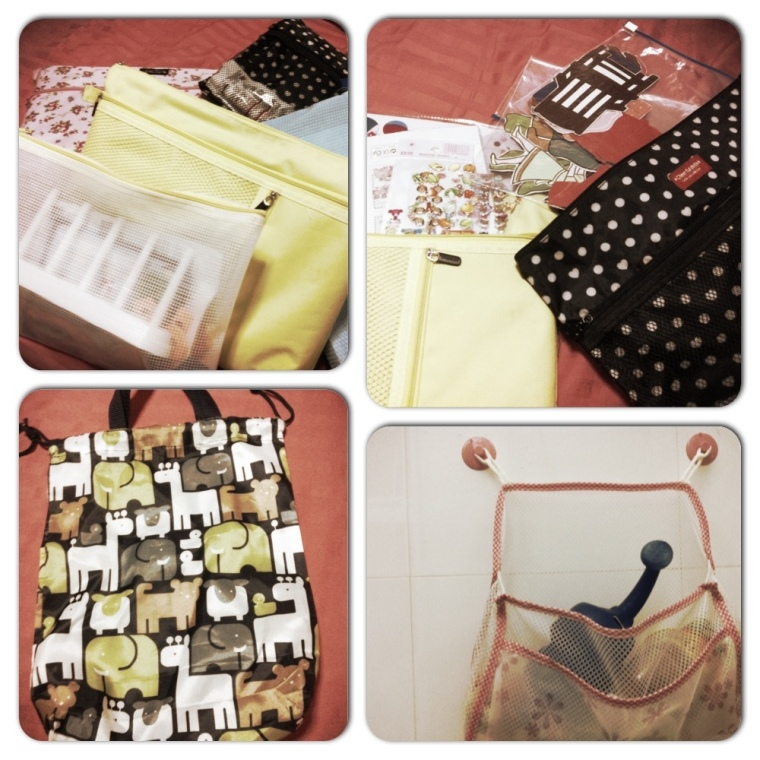 Bags and More Bags from Daiso