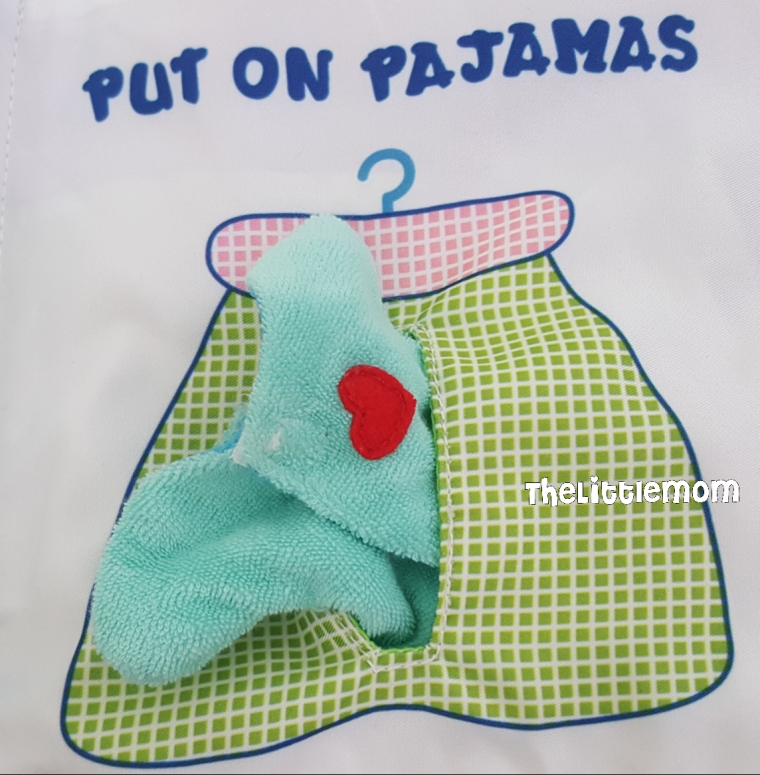 The pajamas can be fitted onto Baby Bear. But its a real tight fit. The kids couldn't do it by themselves. And need help mostly for this step.