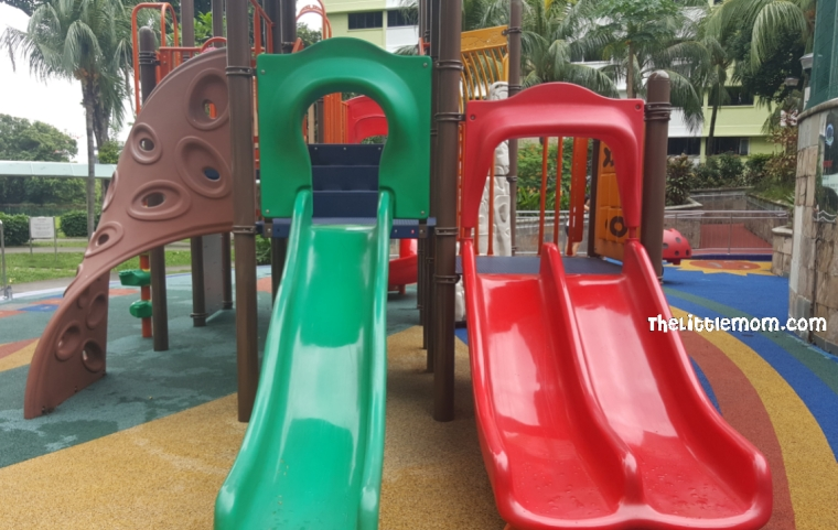 Spottiswoode Playground - Slides