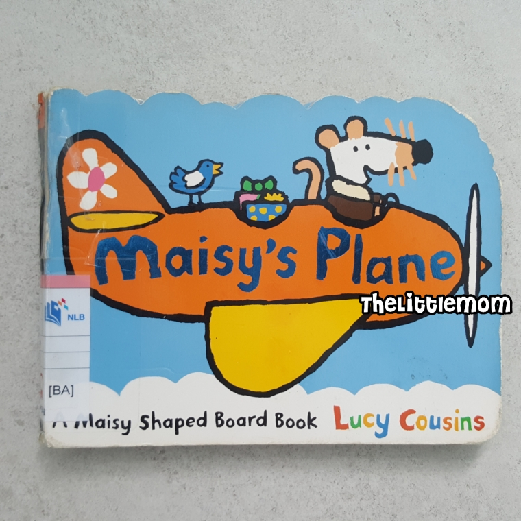 Maisy Plane - Cover