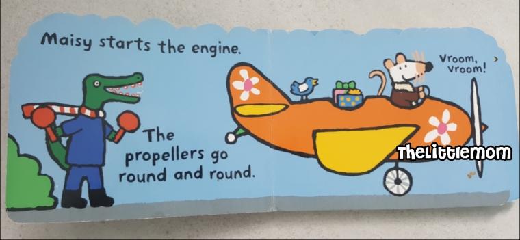 Maisy Plane - Parts