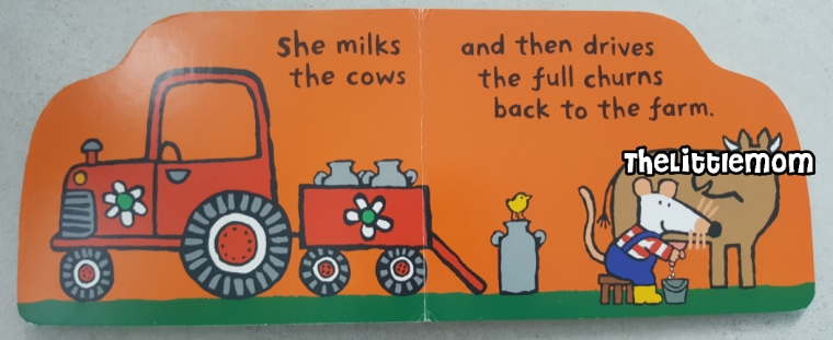 Maisy Tractor - Cow