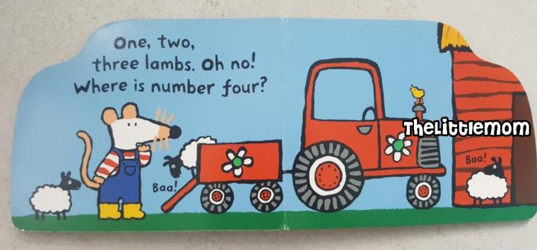 Maisy Tractor - Numeracy